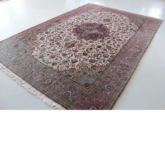 8' 2 x 11' 4 Tabriz Persian Rug