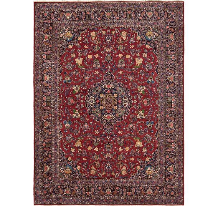 10' 6 x 14' 2 Kashan Persian Rug