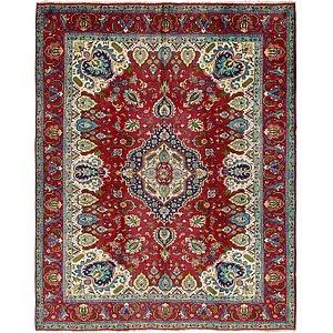 Unique Loom 9' 10 x 12' 8 Tabriz Persian Rug