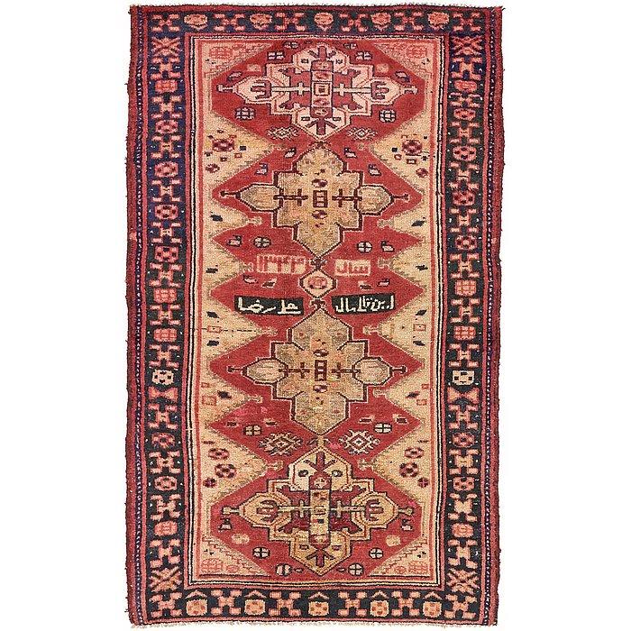 4' 7 x 7' 6 Shiraz-Lori Persian Rug