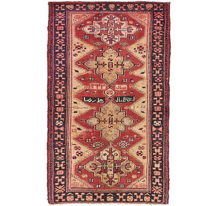 140cm x 230cm Shiraz-Lori Persian Rug