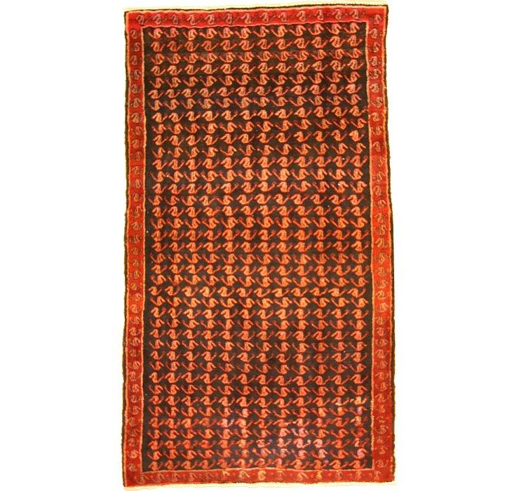 5' x 8' 10 Hamedan Persian Rug