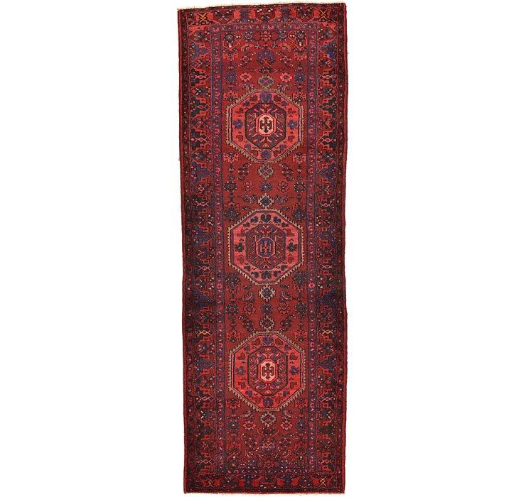 3' 9 x 10' 10 Zanjan Persian Runner Rug
