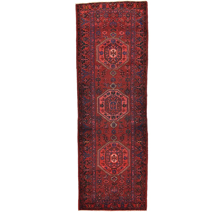 115cm x 330cm Zanjan Persian Runner Rug