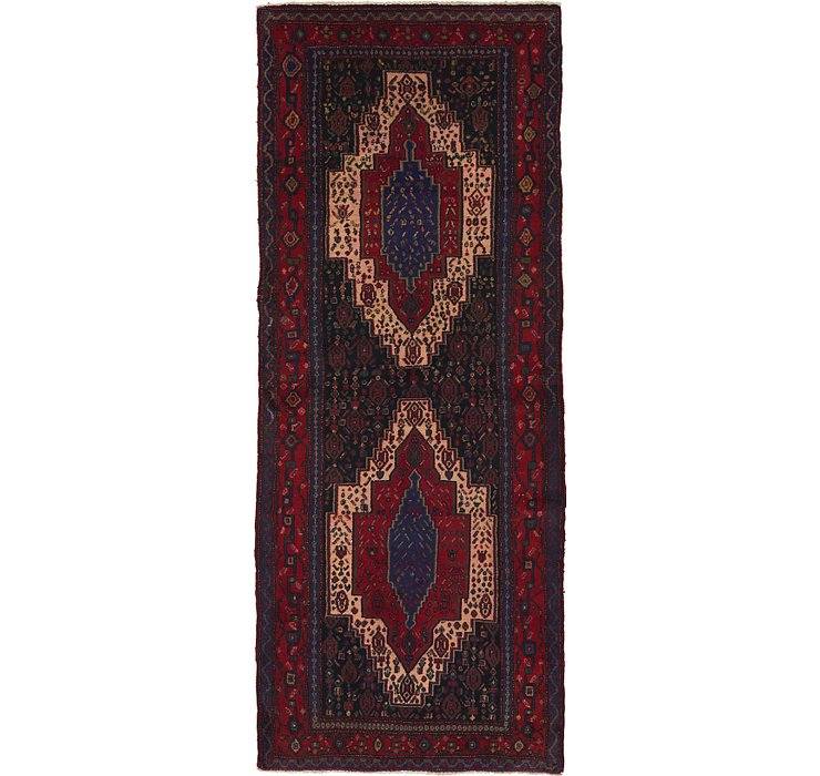 3' 10 x 9' 5 Sanandaj Persian Runner...