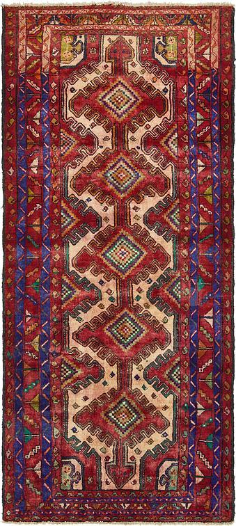 Red 4 2 X 9 4 Zanjan Persian Runner Rug Persian Rugs