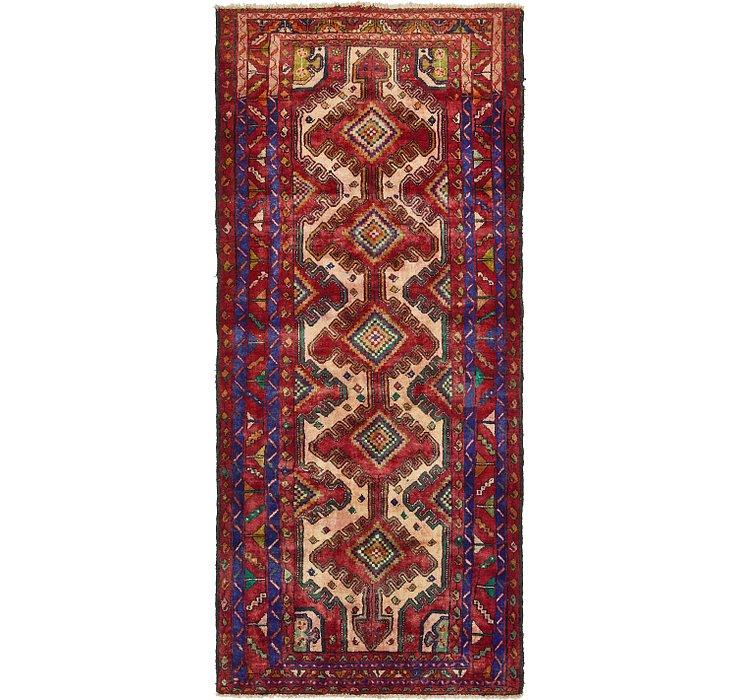 127cm x 285cm Zanjan Persian Runner Rug