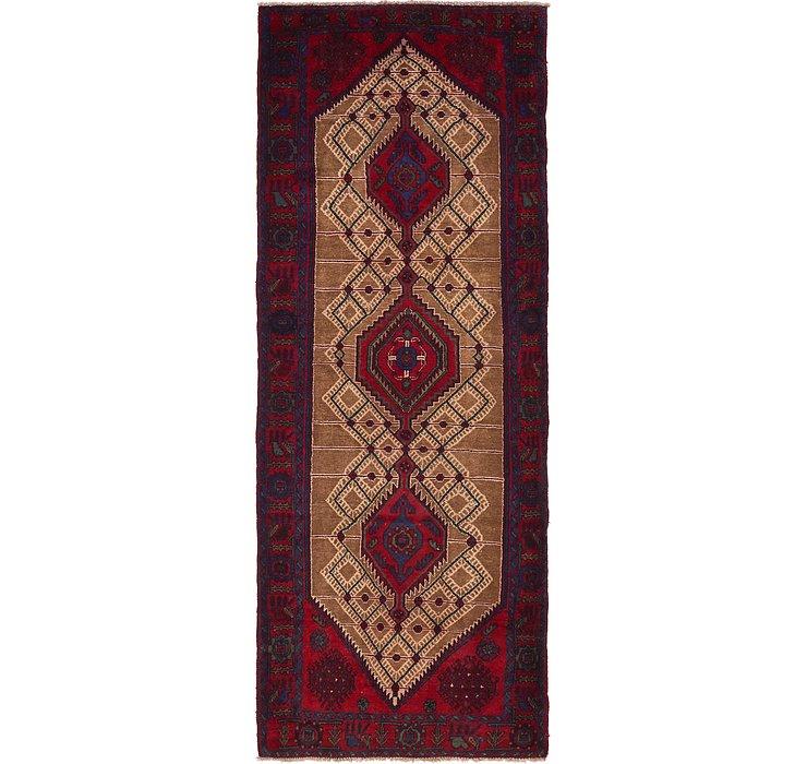 122cm x 328cm Zanjan Persian Runner Rug