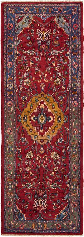 Red 3 8 X 10 3 Hamedan Persian Runner Rug Persian Rugs
