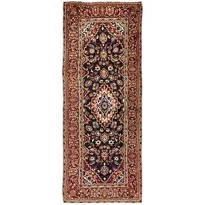 3' 10 x 9' 8 Kashan Persian Runner Rug