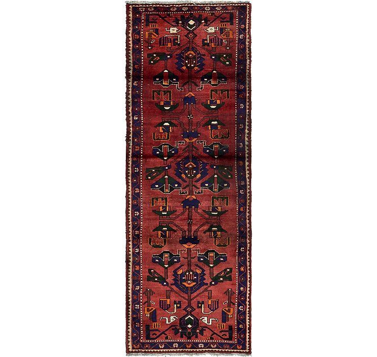 3' 7 x 10' 2 Khamseh Persian Runner ...