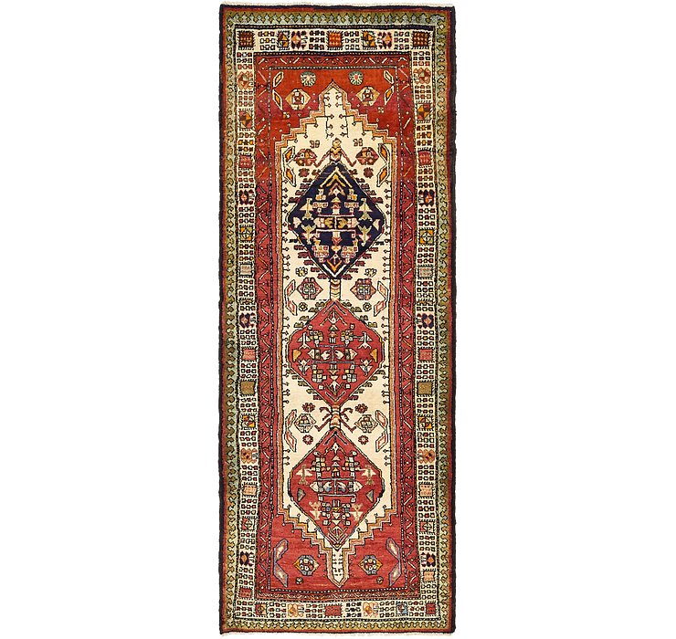 3' 10 x 10' 4 Ardabil Persian Runner ...