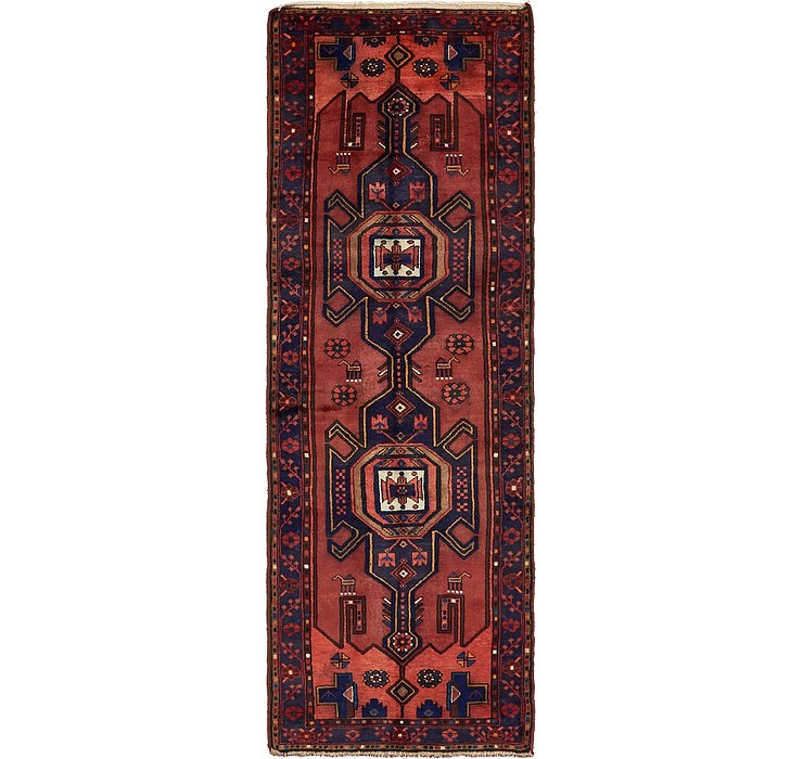 3' 6 x 10' 3 Khamseh Persian Runner ...
