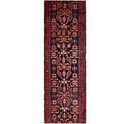 Link to 110cm x 343cm Hamedan Persian Runner Rug