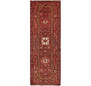 Link to HandKnotted 3' 5 x 9' 10 Zanjan Persian Runner Rug
