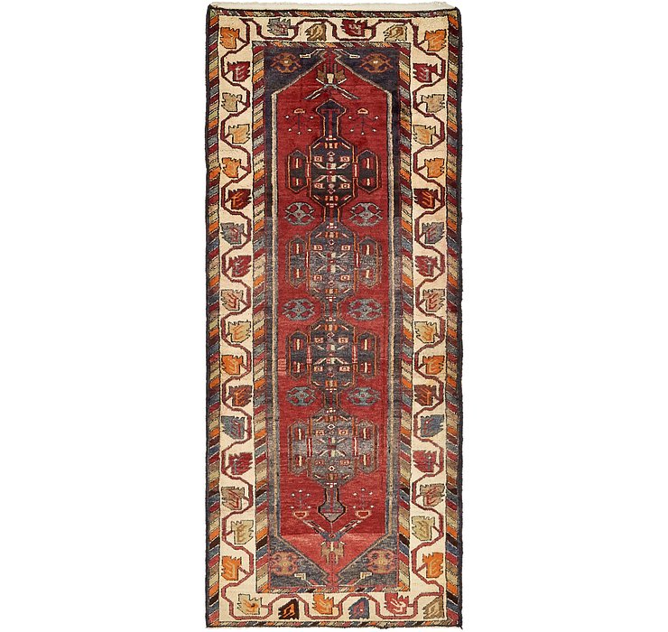 3' 9 x 9' 1 Saveh Persian Runner Rug