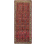 Link to 112cm x 287cm Hossainabad Persian Runner Rug