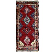Link to 3' 8 x 8' 3 Chenar Persian Runner Rug