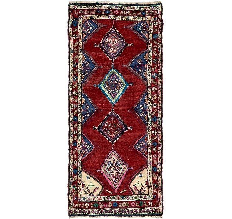 3' 8 x 8' 3 Chenar Persian Runner Rug
