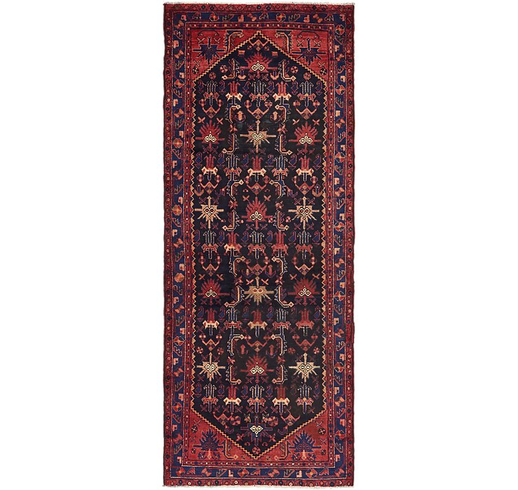 3' 8 x 9' 9 Saveh Persian Runner Rug