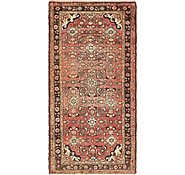 Link to 3' 8 x 7' 3 Hossainabad Persian Rug