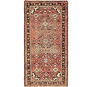 Link to 112cm x 220cm Hossainabad Persian Rug