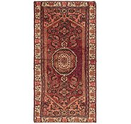 Link to 3' x 6' 4 Hossainabad Persian Runner Rug