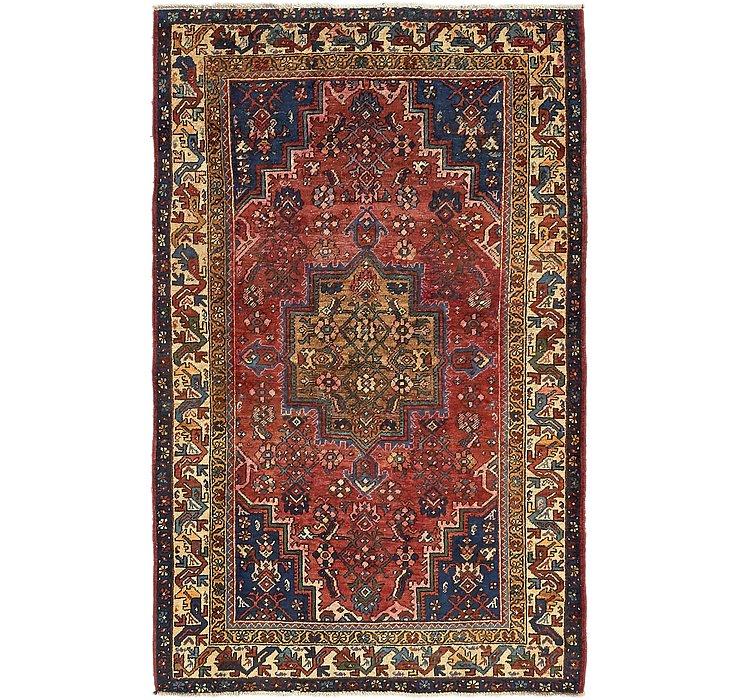 4' 3 x 6' 10 Zanjan Persian Rug