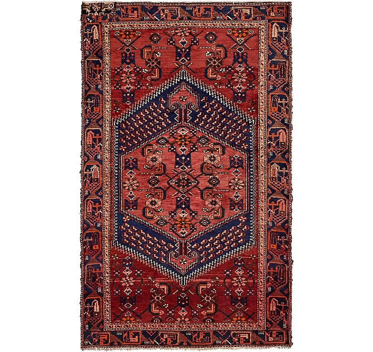 4' 3 x 6' 8 Zanjan Persian Rug