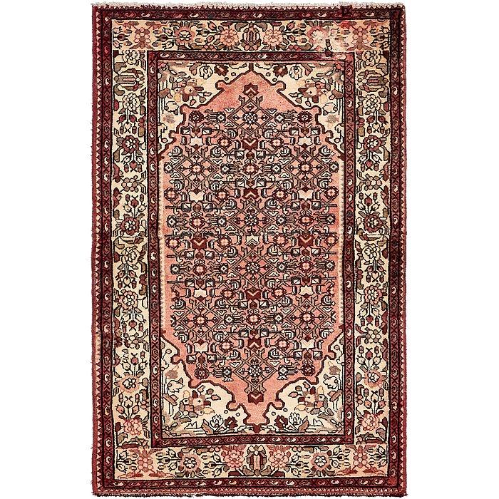 4' x 6' 3 Hossainabad Persian Rug