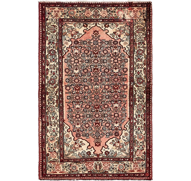 HandKnotted 4' x 6' 3 Hossainabad Persian Rug