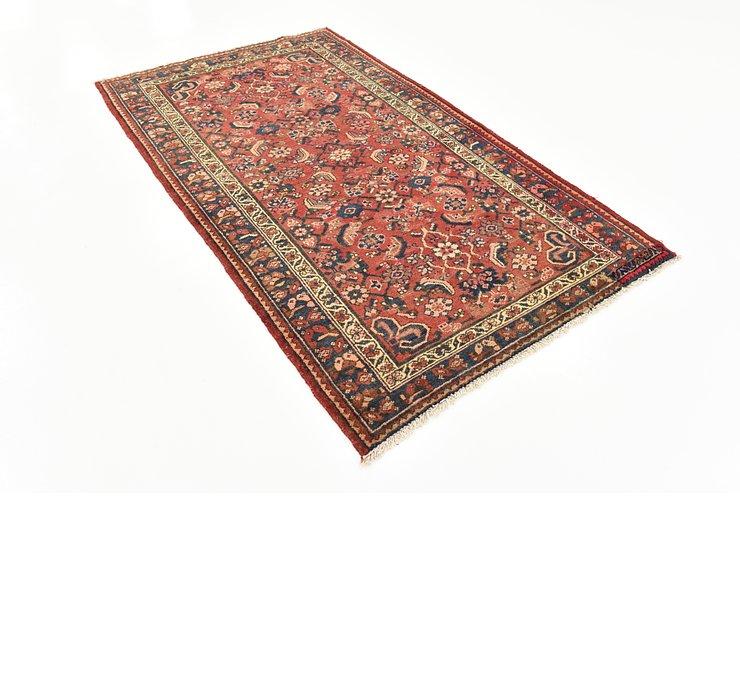 4' 3 x 7' Nanaj Persian Rug