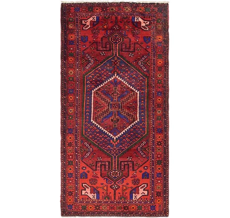 3' 7 x 7' 6 Zanjan Persian Runner Rug