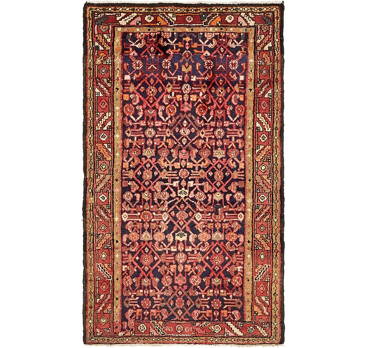 3' 10 x 6' 7 Hossainabad Persian Rug