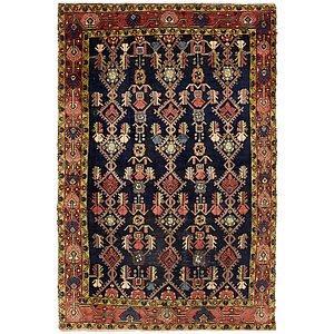 HandKnotted 5' x 7' 6 Nanaj Persian Rug