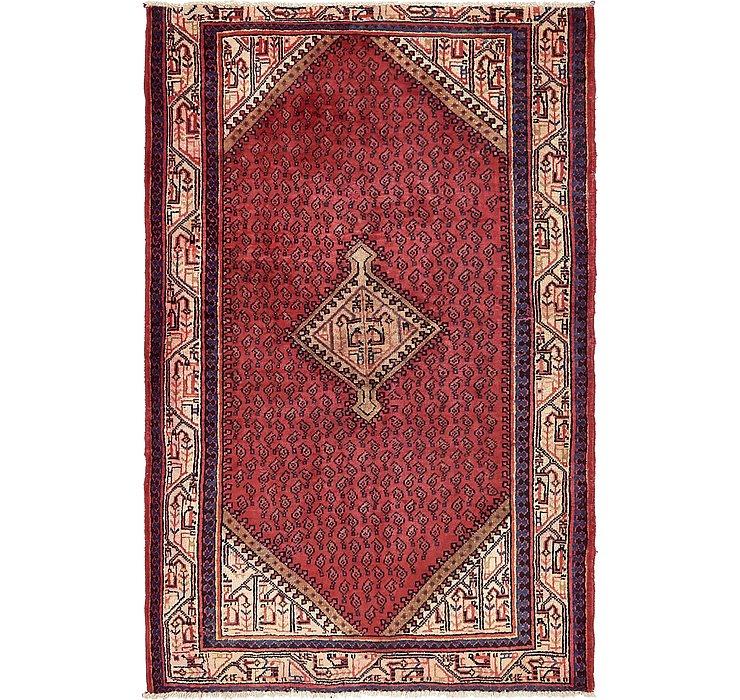 4' 2 x 6' 6 Botemir Persian Rug