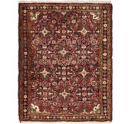 Link to 4' x 5' Hossainabad Persian Rug