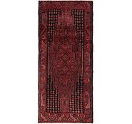 Link to 4' 5 x 10' Mazlaghan Persian Runner Rug