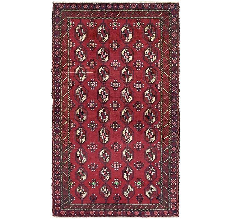 3' 9 x 6' 3 Balouch Persian Rug