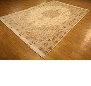 Link to 8' x 11' 4 Tabriz Persian Rug