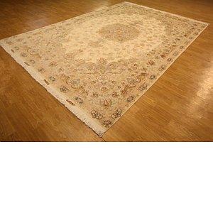 HandKnotted 8' x 11' 4 Tabriz Persian Rug