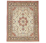Link to 6' 4 x 8' 1 Qom Persian Rug