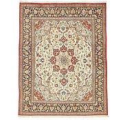 Link to 6' 4 x 8' 1 Qom Persian Rug