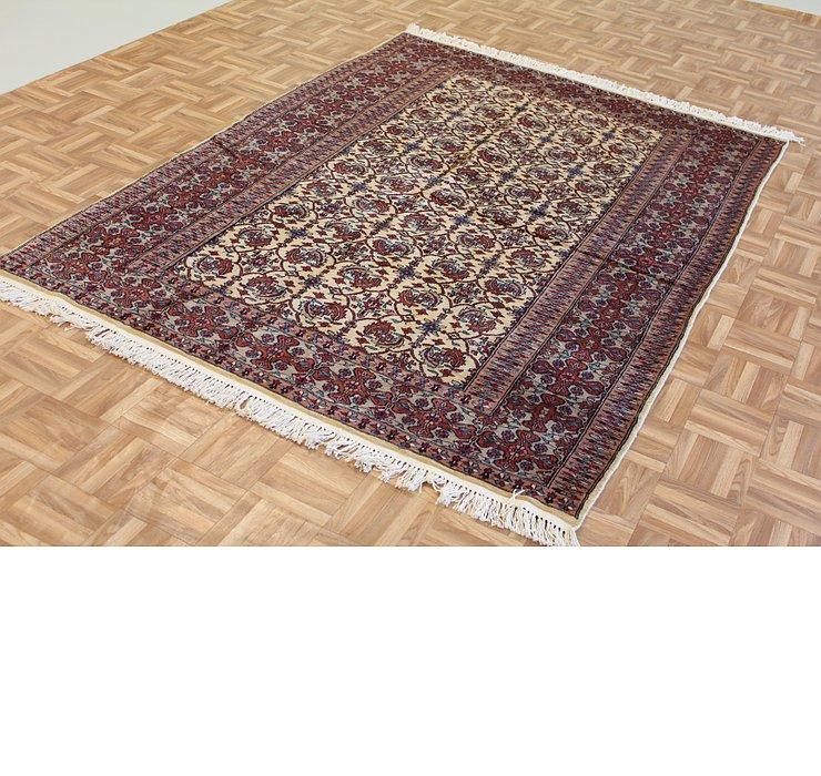 155cm x 215cm Bokhara Oriental Rug