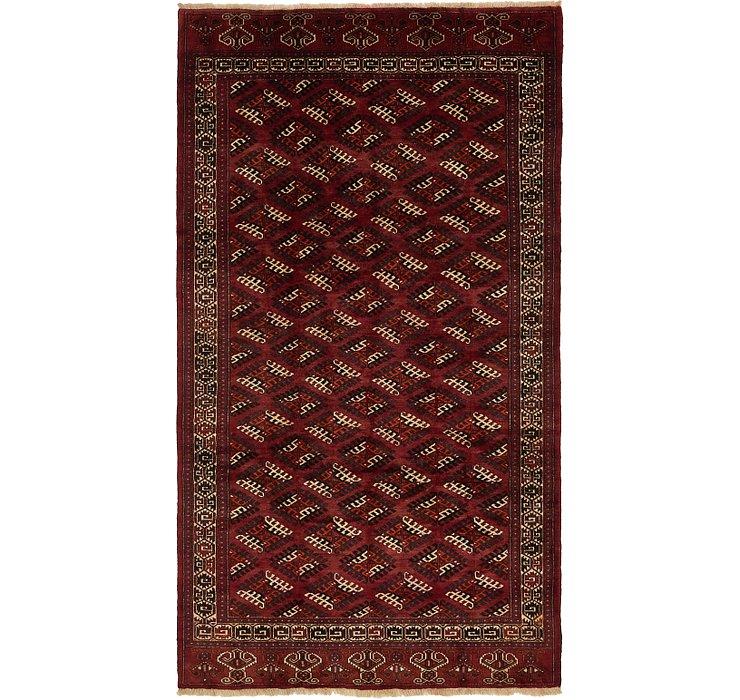7' x 12' 4 Torkaman Persian Rug