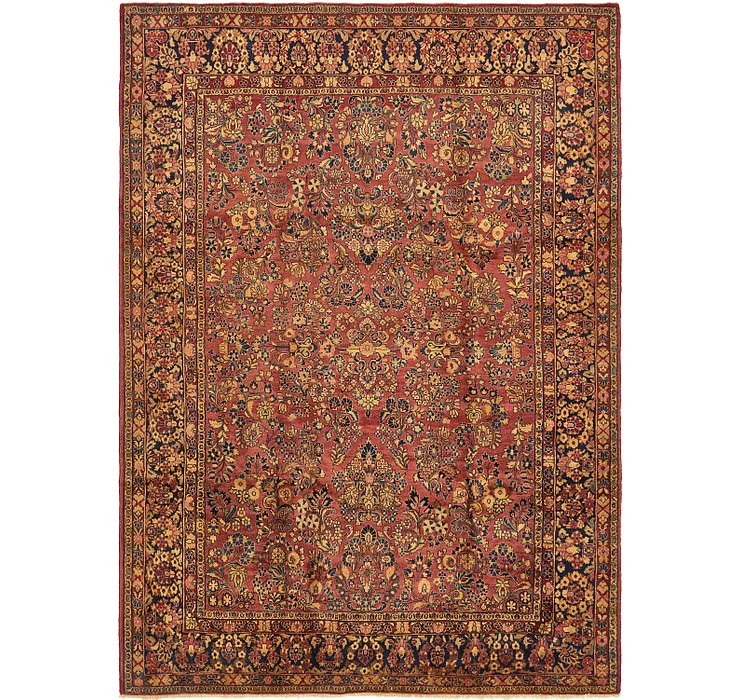 8' 9 x 12' Sarough Persian Rug