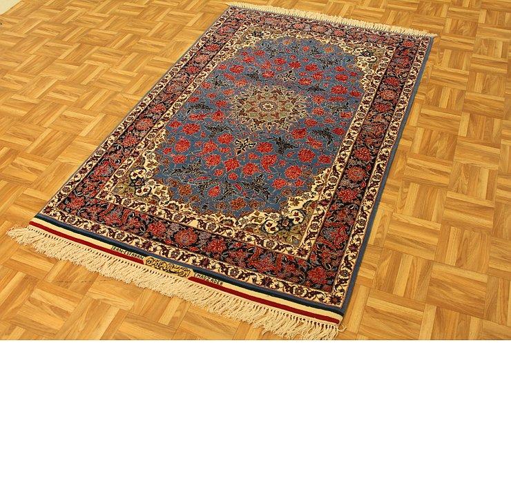 3' 9 x 5' 9 Isfahan Persian Rug