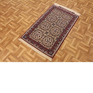 2' 2 x 3' 7 Isfahan Persian Rug