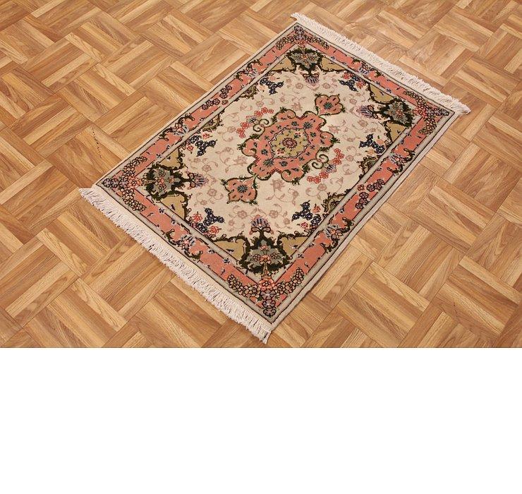 2' x 3' 3 Tabriz Persian Rug