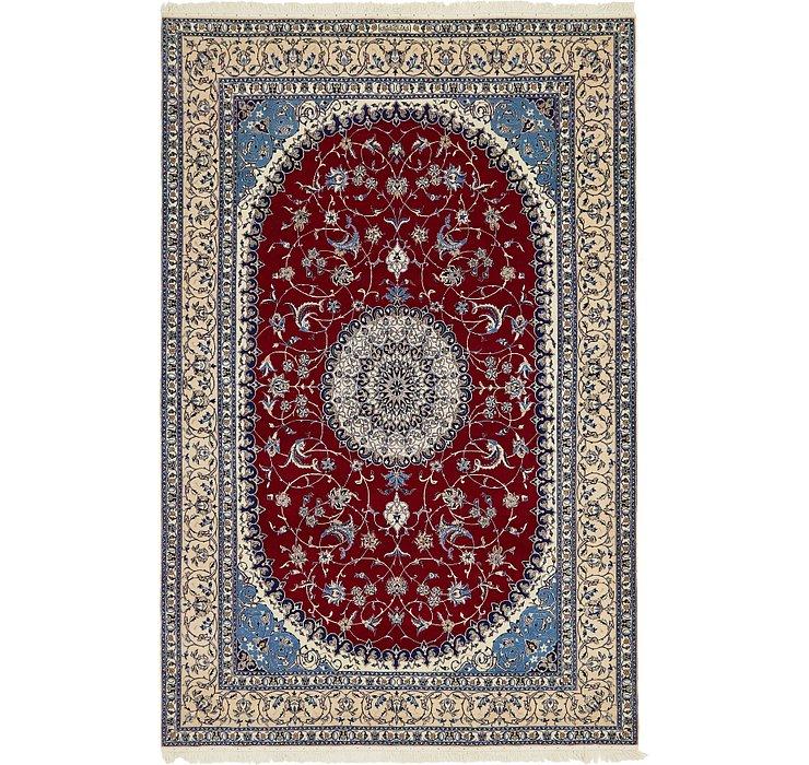HandKnotted 6' 8 x 10' Nain Persian Rug